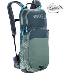 EVOC CC Backpack 10l + Bladder 2l slate-olive
